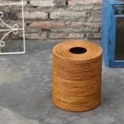 茶筒型蓋付きSサイズ (DST197)  Rosily(ロージリー) バリ島 アタかご雑貨