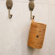 花挿し (OVL240)  Rosily(ロージリー) バリ島 アタかご雑貨