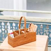 リモコン立て4枠持手付L (RCB272)  Rosily(ロージリー) バリ島 アタかご雑貨