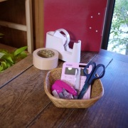 逆台形カゴMサイズ (TRY300)  Rosily(ロージリー) バリ島 アタかご雑貨
