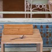 カトラリー蓋付Lサイズ (TRY332)  Rosily(ロージリー) バリ島 アタかご雑貨