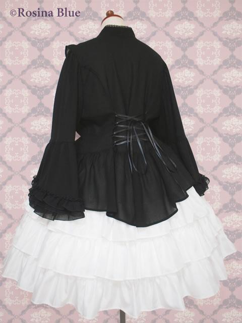 大きいサイズ ゴシック&ロリィタ 姫袖