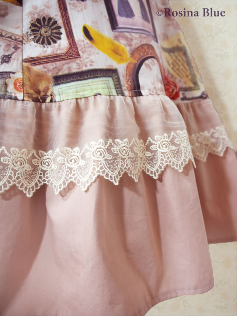 大きいサイズ クラシカルロリィタ ジャンパースカート