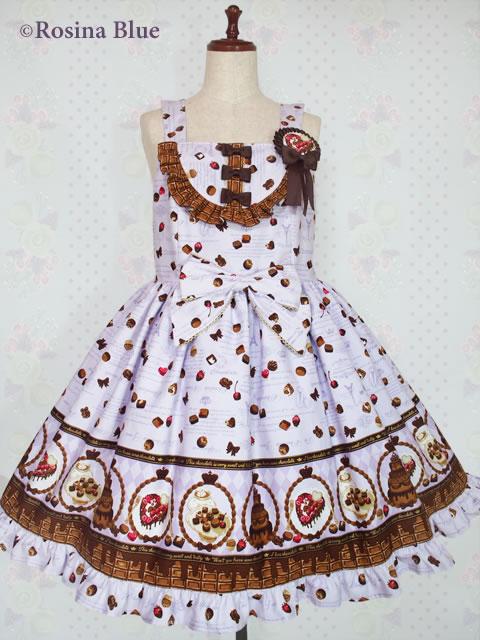 大きいサイズ ロリィタ ジャンパースカート