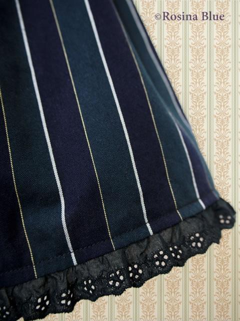 大きいサイズ レジメン ジャンパースカート
