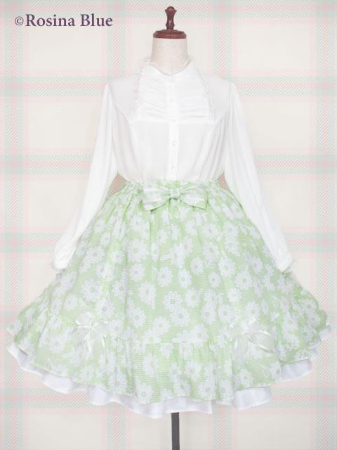 大きいサイズ ロリィタ スカート コーデ