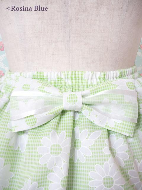 ウエストゴム ロリィタ 2WAYスカート