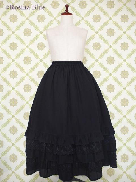 大きいサイズ ゴシック ロングスカート