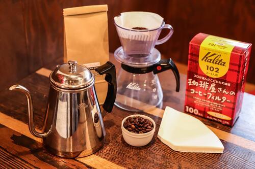 コーヒースタート「カリタ ポットセット」