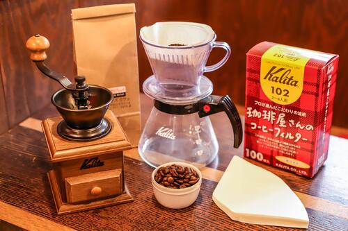 コーヒースタート「カリタ ミルセット」