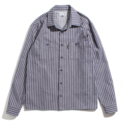 Hickory herringbone work shirt