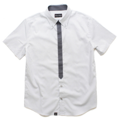 basic minimal tied s/s shirt
