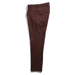 SOLOTEX Twill stretch Tapered pants