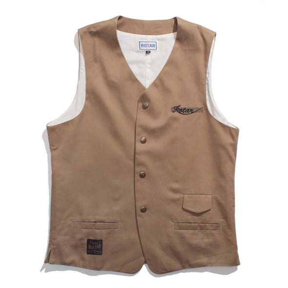 Twill Ciassical Vest