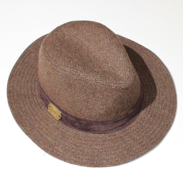 Classical Tweed Flat Hat