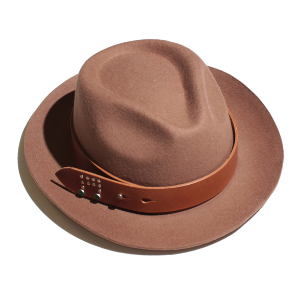 【50%OFF】Buttero Leather Belt Hat