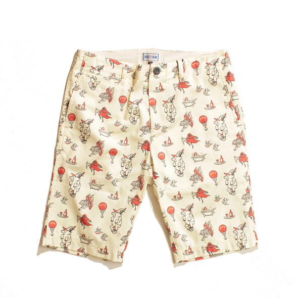 【30%OFF】Circus textile short pants