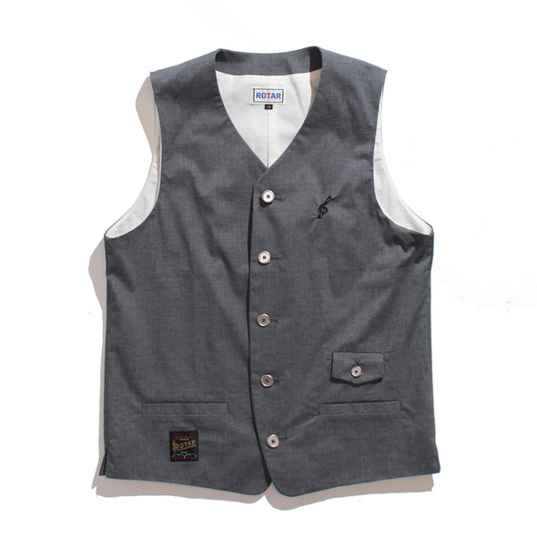 Streach light vest