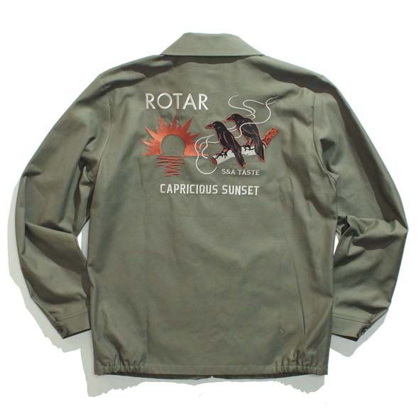 Back satin Souvenir jacket