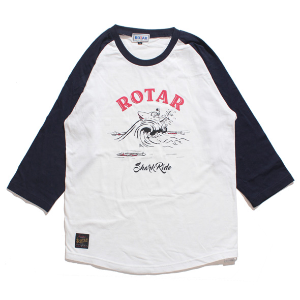 Shark Ride Raglan Tee
