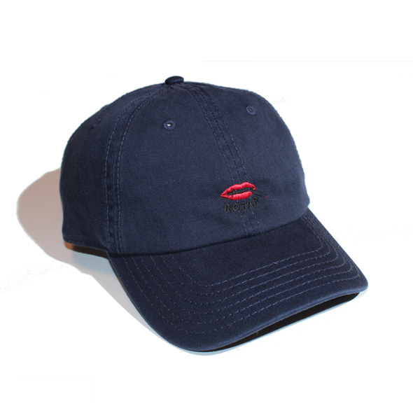 Lip washed cotton cap