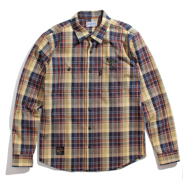 【30%OFF】Heavy check shirt