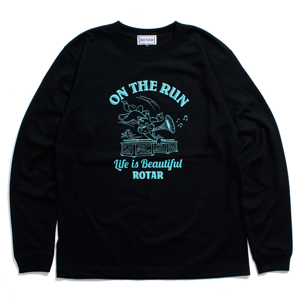 ON THE RUN LS Tee