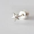 スタースタッズピアス / Star Stud Pierced Earring