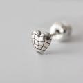 グレネードハートピアス / Grenade Heart Pierced Earring