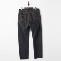 Five DIA Stitch Black Denim Pants