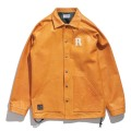Leather Coach jacket