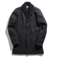 【50%OFF】MeltonxBoa ranch coat