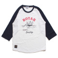 【30%OFF】Shark Ride Raglan Tee
