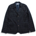 Windowpane Stretch Jacket