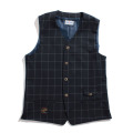 【11/1再入荷】Windowpane Stretch Vest