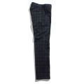 Windowpane Stretch Trousers