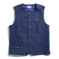 Wabash Striped Work vest