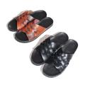 Microfiber weaved sandals