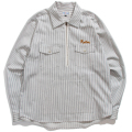 Half Zip Hickory Work shirt
