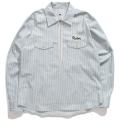 【先行予約●11月中旬入荷予定】Half Zip Hickory Work shirt