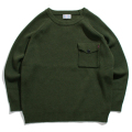 Pocket army knit