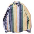 Multi broad striped shirt