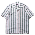 Italian Collar Stripe Shirt