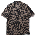 Zebra Textiles Open Collar Shirt