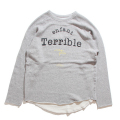 【会員限定】【30%OFF】Terrible Cutoff Sweat