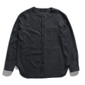 【50%OFF】No collar wool shirt