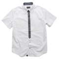 【会員限定】【30%OFF】basic minimal tied s/s shirt