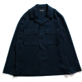 LANATEC Glen check shirt jacket