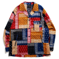 【30%OFF】Bandana Cloth Shirt Jacket