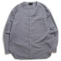【30%OFF】Stretch Light Cloth No Collar Shirt
